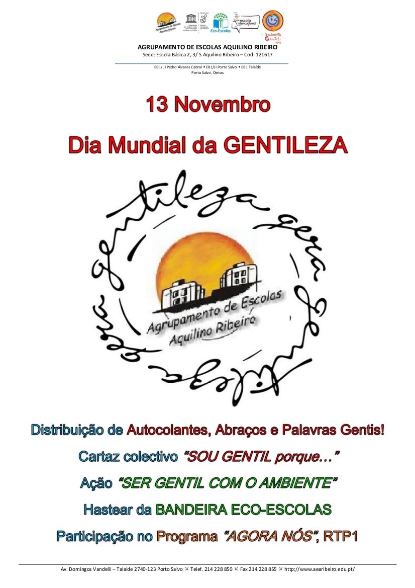 Dia Mundial da Gentileza
