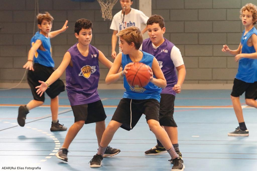 Basquetebol: Torneio Interturmas 3X3 AEAR