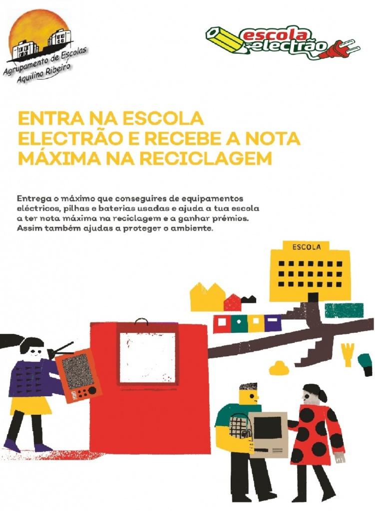 """Já somos uma """"Escola Electrão""""!!!"""