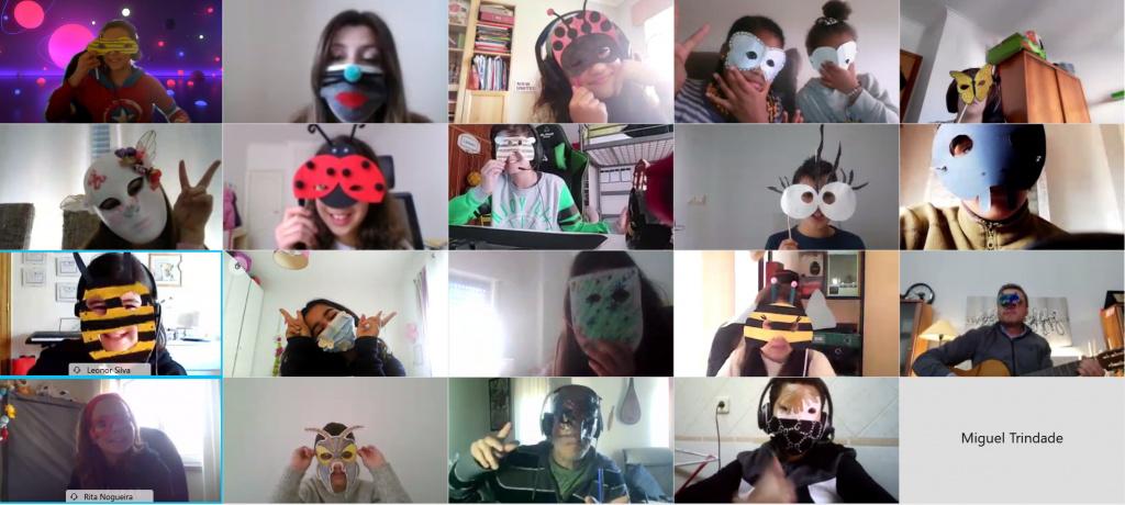 As Máscaras do 5ºD